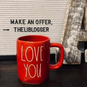 NWT Rae Dunn LOVE YOU Mug
